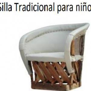 Silla Tradicional Para Niños