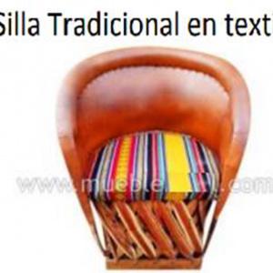 Silla Tradicional Textil