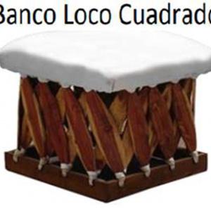 Banco Loco Cuadrado